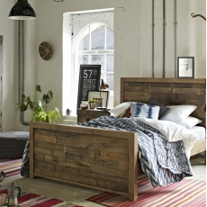 Reclaimed Ranch Bedroom