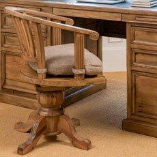 Camilla Office Honey Oak
