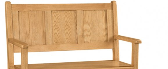 Cheltenham Oak Monks Bench