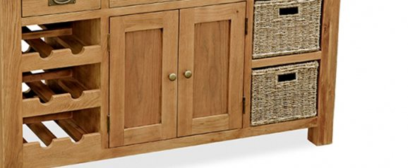 Cheltenham Oak Kitchen Island
