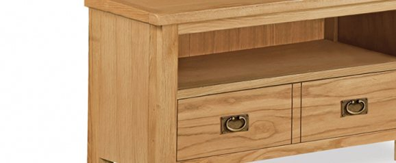 Cheltenham Oak Compact Small TV Unit