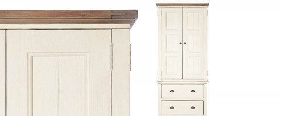 Camilla Small Double Wardrobe