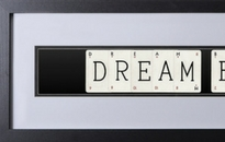 Dream Big Playing Cards Wall Art