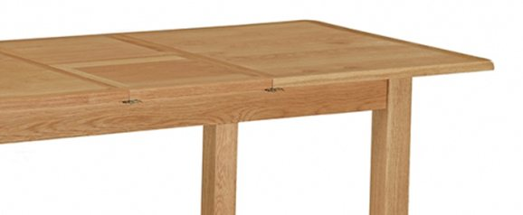Cheltenham Oak Compact 150cm Extending Table