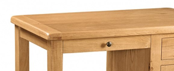 Cheltenham Oak Single Desk