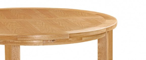 Cheltenham Oak Round Table