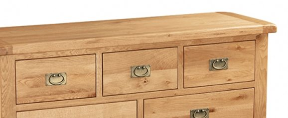 Cheltenham Oak Chest 3 Over 4