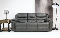 Detroit Grey Fabric 3+2 Recliner Deal