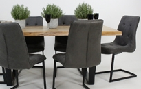 Living Edge 180cm Fixed Dining Table