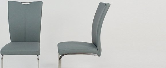 2 x Grey Opus Dining Chair