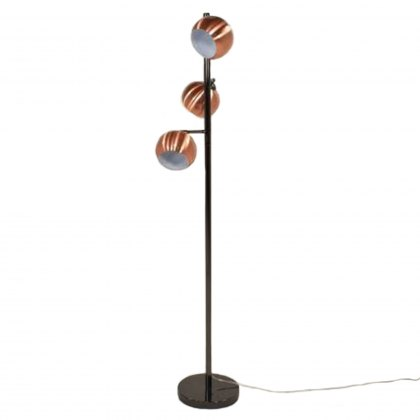 Austin Copper Ball Floor Lamp