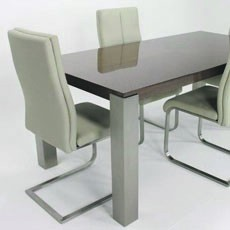 High Gloss Retro Dining Table