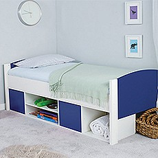 Stompa Duo Blue Cabin Bed