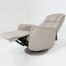 Barnabie Electric Leather Recliner Armchair
