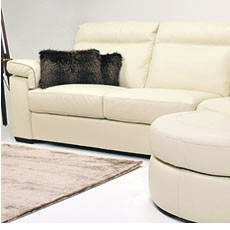 Morelli Leather Right Hand Corner Sofa