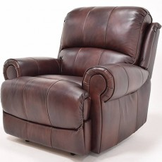 Leo Leather Reclining Armchair