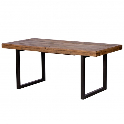 Reclaimed Ranch 180cm - 240cm Extending Dining Table FSC Certified