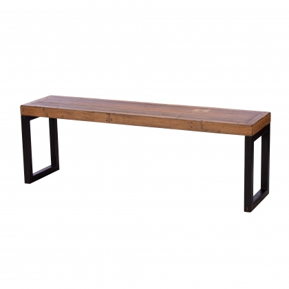 Reclaimed Ranch Small Bench FSC Certified