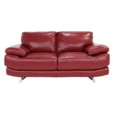 Mode 2 Seater Leather Sofa