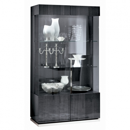 Alf Italia Monte Carlo 2 Door Display Cabinet