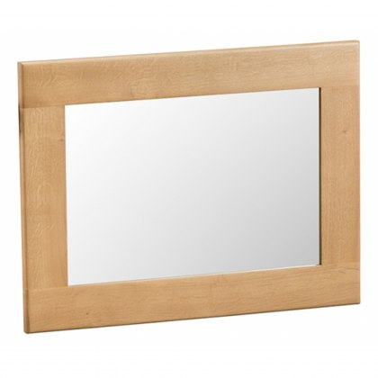 Odessa Oak Small Wall Mirror
