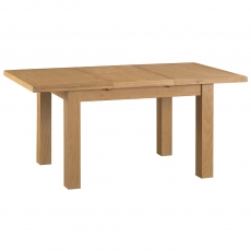 Odessa Oak 1.3m Butterfly Extending Table with Metal Runner