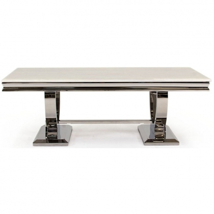 Arianna Dining Table - White 180cm