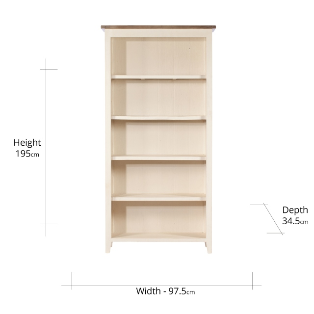 Camilla Tall Bookcase FSC Certified
