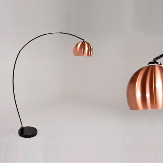 Austin Copper Ball Retro Lounge Lamp