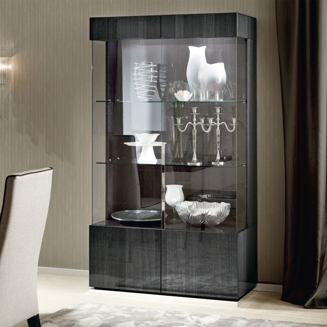 Alf Italia St Moritz 2 Door Display Cabinet