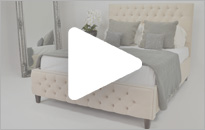 Imperio Vienna Fabric Bed