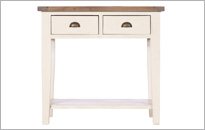 COTSWOLD 2 DRAW HALL TABLE