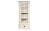 CAMILLA 1 DOOR DISPLAY CABINET