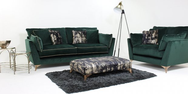Styling your velvet sofa this winter