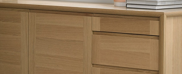 Brecon Oak Wide Sideboard