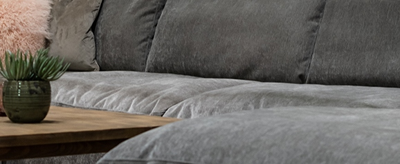 The Cloud Large Corner Sofa Option 2 with Footstool