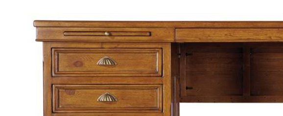 Santiago Large Desk Cherry Brown