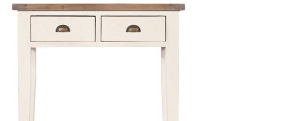 Camilla 2 Drawer Hall Console Table