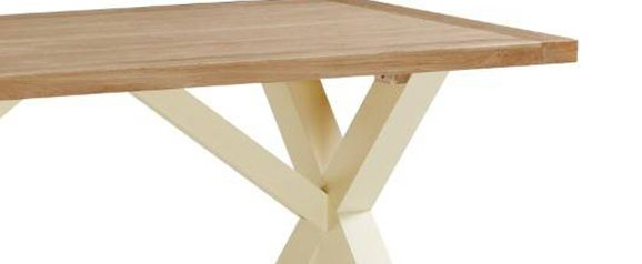 Country Cottage Cross Dining Table 1900