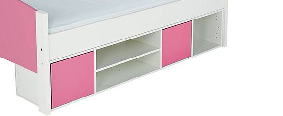 Stompa Duo Pink Cabin Bed