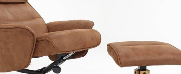 Aston Recliner Chair & Stool