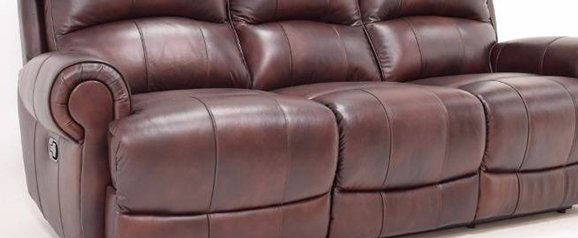 Leo 2 Seater Leather Recliner Sofa