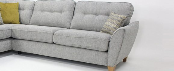 Memphis Small Right Hand Chaise Corner Sofa