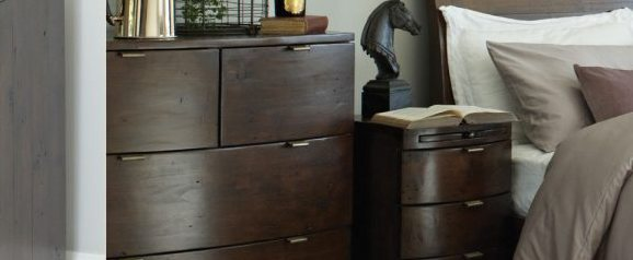 Aston 3 Drawer Bedside Table