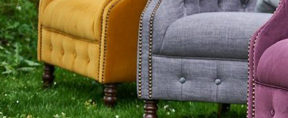 Alexander & James Jude Armchair Plush Turmeric