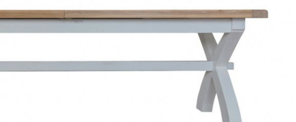 Malvern 2.5m Cross Extending Dining Table