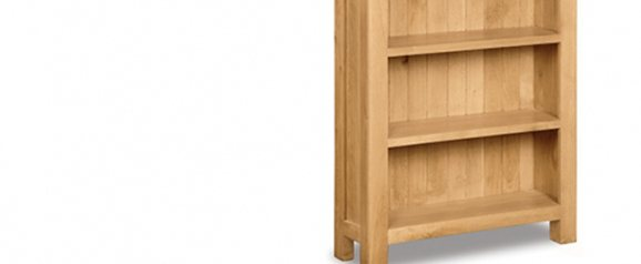 Cheltenham Oak Large Bookcase