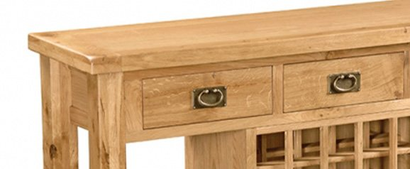 Cheltenham Oak Open Sideboard
