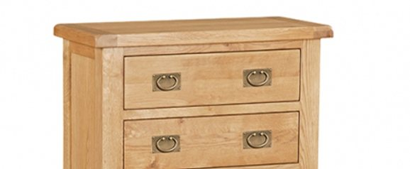 Cheltenham Oak Chest 5 Drawer