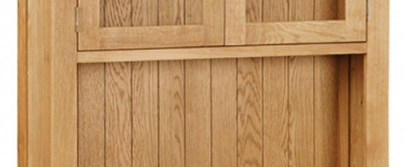Cheltenham Oak Small Hutch
